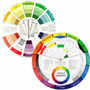 Circulo Disco Cromático Color Pequeno Wheel 13 Cm