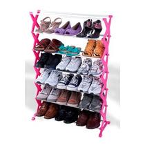 Sapateira C/ 7 Andares - Organizador De Sapatos
