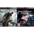 Watch Dogs Ps3 Pt Br + Metal Gear 5 Solid 5 Código Psn