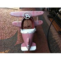 Avião Red Baron Anos 70 - Pedalcar