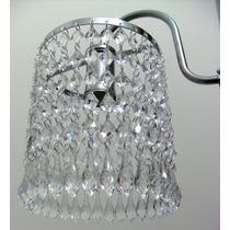 Lustre De Cristal Acrilico - Luminaria Parede / Arandela