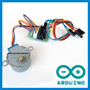 Motor De Passo +cabos Motorshield V2.0+código Shield Arduino