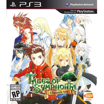 Jogo Lacrado Tales Of Symphonia Chronicles - Playstation 3
