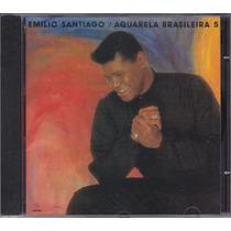 Emilio Santiago - Cd Aquarela Brasileira 5 - 1992