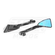 Espelho Retrovisor Esportivo Moto Preto Rizoma Honda Bros150