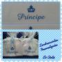 Toalhinhas Bordadas Personalizadas ( Coroa + Nome )