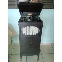 (only Wood) Magnifico Gramofone Brunswick Restaurado