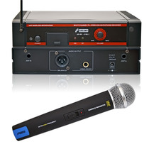 Arcano Microfone Sem Fio Uhf 16 Canais Ar-wx-2160-1 Mic Mao