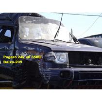 Maquina Vidro Pagero 6v 97/98 Dianteiro L.d