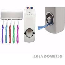 Dispenser Automático D Pasta De Dente + Suport Porta Escova