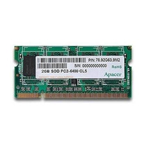 Memoria Ram Notebook Netbook 2gb Ddr2 800mhz Pc2-6400s Smart