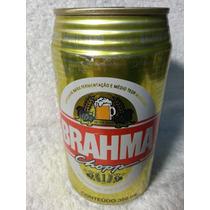 Lata Cerveja Cheia Ano 1996: Brahma Chopp 350ml Frete Grátis