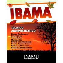 Apostila Ibama Tecnico Administrativo - Concurso Ibama