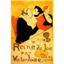 Cartaz Poster Restaurante Casal Amor França Paris Lautrec