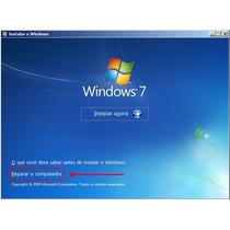 Dvd Instalação Windows 7 Todas Versões-serial Original +nero