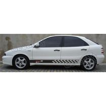 Kit Faixas Adesivos Fiat Brava Racing - Imprimax - Decalx