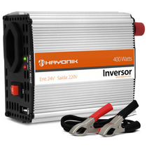 Inversor Transformador Conversor 400w 24v - 220v Usb