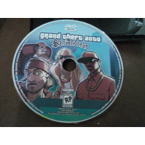 Dvd Grand Theft Auto San Andreas 2004 Ps2-ótimo Estado