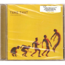 Cd Take That - Progress ( Lacrado )