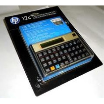 Calculadora Financeira Hp 12c Gold Original