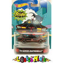 Batman Tv Series Batmobile Hot Wheels Retro Lacrado Borracha