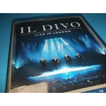 Il Divo - Blu-ray Live In London 2011 - Importado Uk