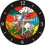 Relógio De Parede Em Vinil Romero Britto, São Jorge