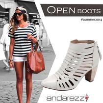 Ancle Boot Andarezzy Couro Legitimo Coleção 2014