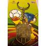 Chaveiro Cbf Copa Do Mundo Brasil Fifa 2014 Em Metal Novo