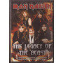 Iron Maiden -the Legacy Of The Beast-dvd Original Raro Fora
