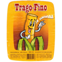 Rótulo De Cachaça, Aguardente, Pinga Trago Fino - A1c1