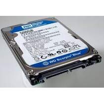 Hd P/ Notbook 500gb 5400rpm Sata Western Digital*curitiba*