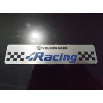 Emblema Racing Motors Turbo Gol Saveiro Parati Fusca Golf