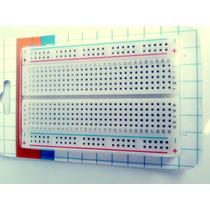 Protoboard Breadboard De 400 Pontos P/ Projetos Eletronica