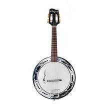 Banjo Marquês Preto Elétrico Bm01 + Capa + 5 Palhetas 0,50