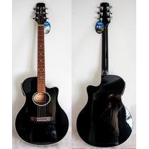 Violão Tjx5bk T Johnson Cópia Do Yamaha Apx5
