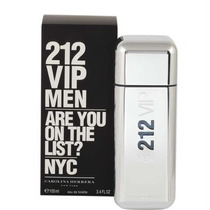 Perfume 212 Vip Men Carolina Herrera -100ml - 100% Original
