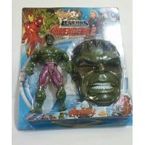 Boneco Máscara Hulk Vingadores 25cm Boneco Grde Frete Gratis