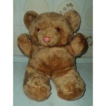 Urso Grande Antigo De Pelúcia Lindo!!! (g17)