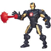Boneco Marvel Super Hero Mashers - Iron-man A6830 - Hasbro