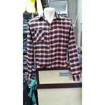 Camisa Xadrez Manga Longa Masculino Flanelado Por R$ 49,99