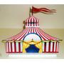 Display Tema Circo Palhaços Decoração Centro Mesa Enfeite