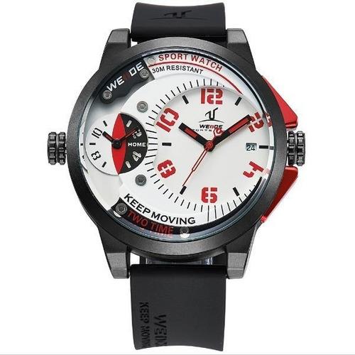 67b71c7b838 Relógio Masculino Weide Analógico Uv-1501 Pt-vm