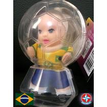 Bonecas Coleção Fofolete Seleções Do Mundo. Estrela.