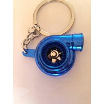 Chaveiro Turbina Turbo Azul Tuning * Frete Grátis *