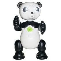 Brinquedo Robô By Bots Panda Bambu Se Mexe E Acende Luzes