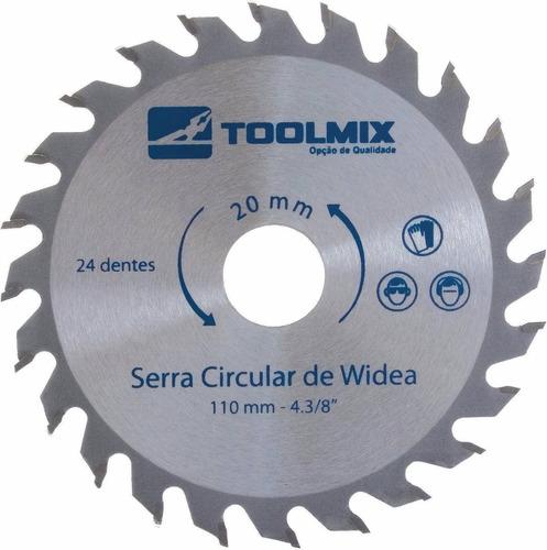 Lâmina Serra Circular 250x30mm 60 Dentes P / Madeira Toolmix