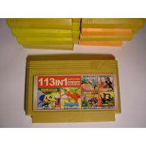 Fita Nes Original 113 Jogos Em 1 Nintendinho Nova Pac Man Ka