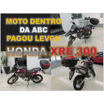 Honda Xre300 Ano 2011 - Financio Sem Burocracia