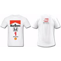 Camisa F1 Mclaren Ayrton Senna Anos 90